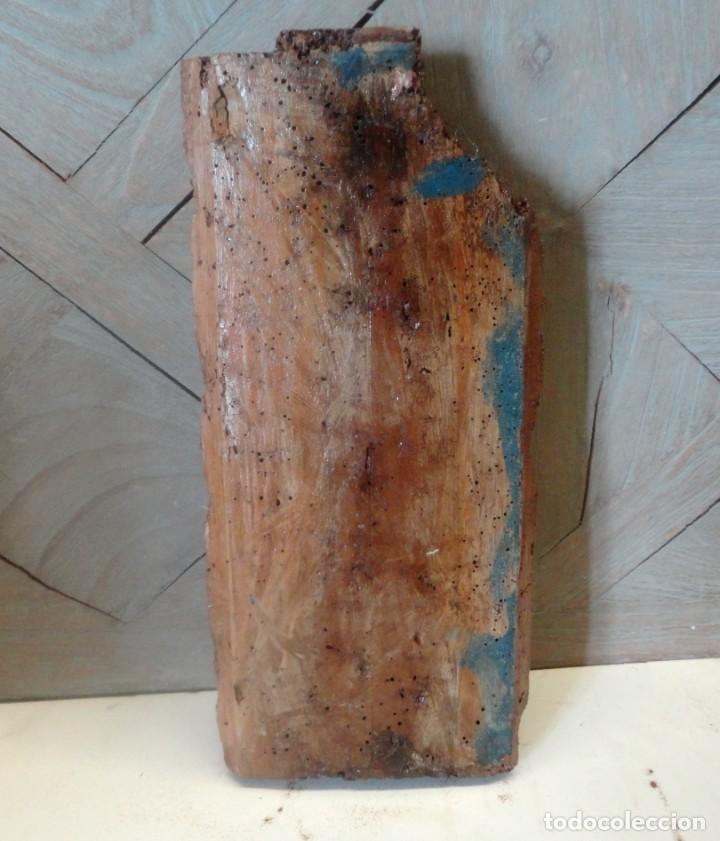 Arte: Fragmento de retablo, representando caliz o santo grial. - Foto 6 - 252148690