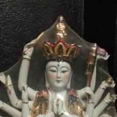 Arte: GUANYI KWAN YI DIOSA HINDÚ. INDIA.BUDISMO. Lote 252296440