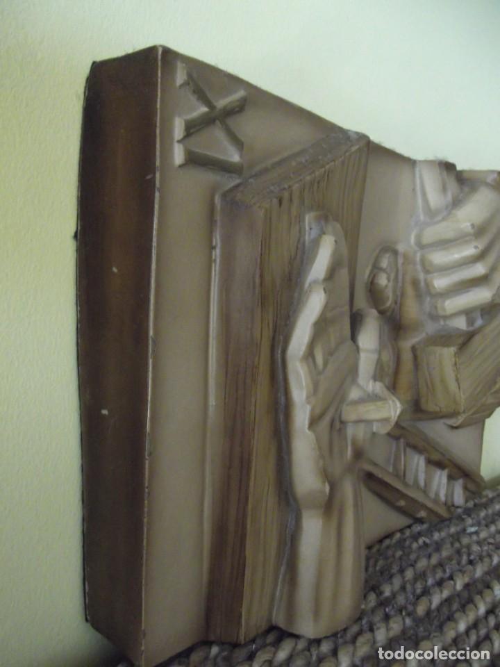 Arte: Magistrales Esculturas 3 D en madera 25 x 18 x 4,5 - Foto 2 - 252332505
