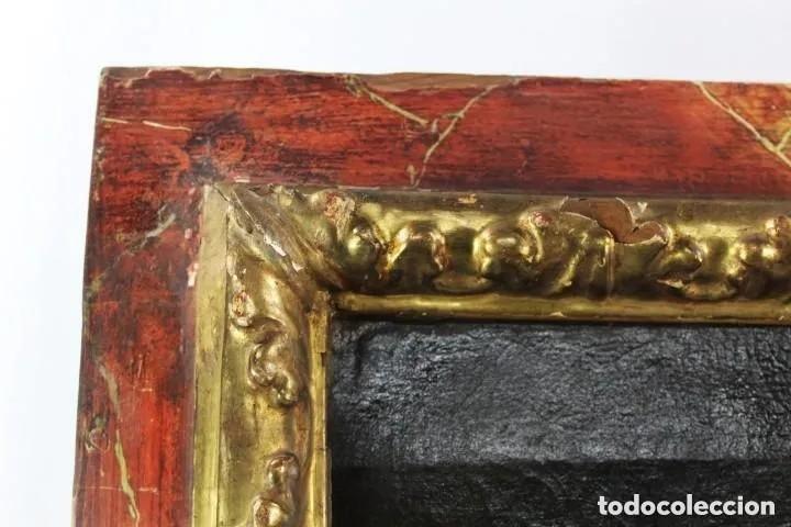 Arte: Virgen con Niño. Óleo sobre tela. Oil on canvas. Siglo 18th century. Anónimo. Spanish school - Foto 9 - 248219940