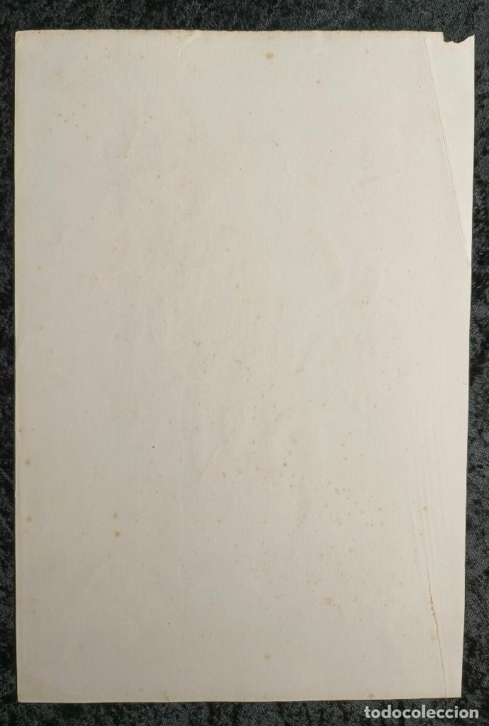 Arte: SANTA LUTGARDA - LITOGRAFIA COLOR - circa 1825 - 32x21cm - ABOGADA PARTOS DIFICILES - Foto 8 - 252426415