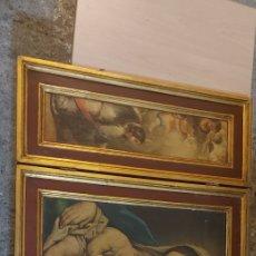 Arte: ANTIGUO TRIPTICO RELIGIOSO. Lote 252689345