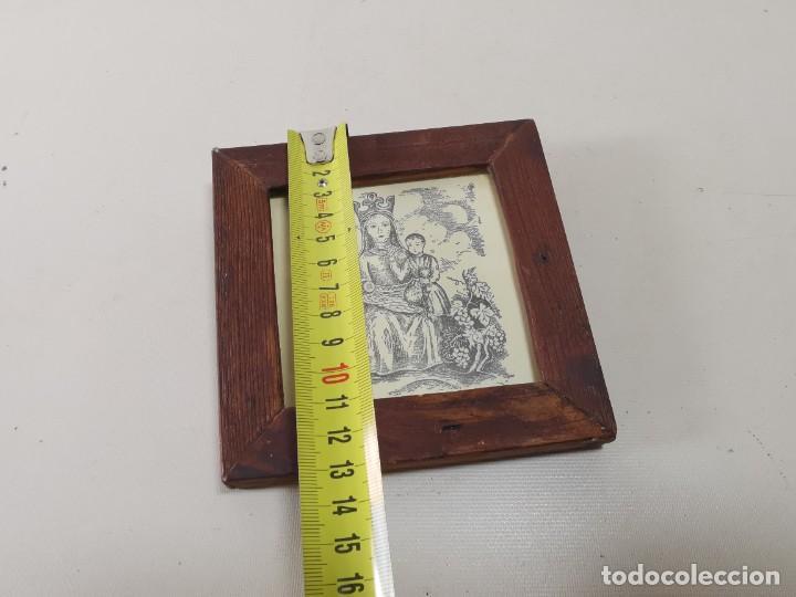 Arte: VERGE SANTA DEL VINYET..FIRMADO G.PULIDO 1956 SE DESCONOCE TECNICA GRÁFICA DE IMPRESION---REF-MO - Foto 14 - 253107400