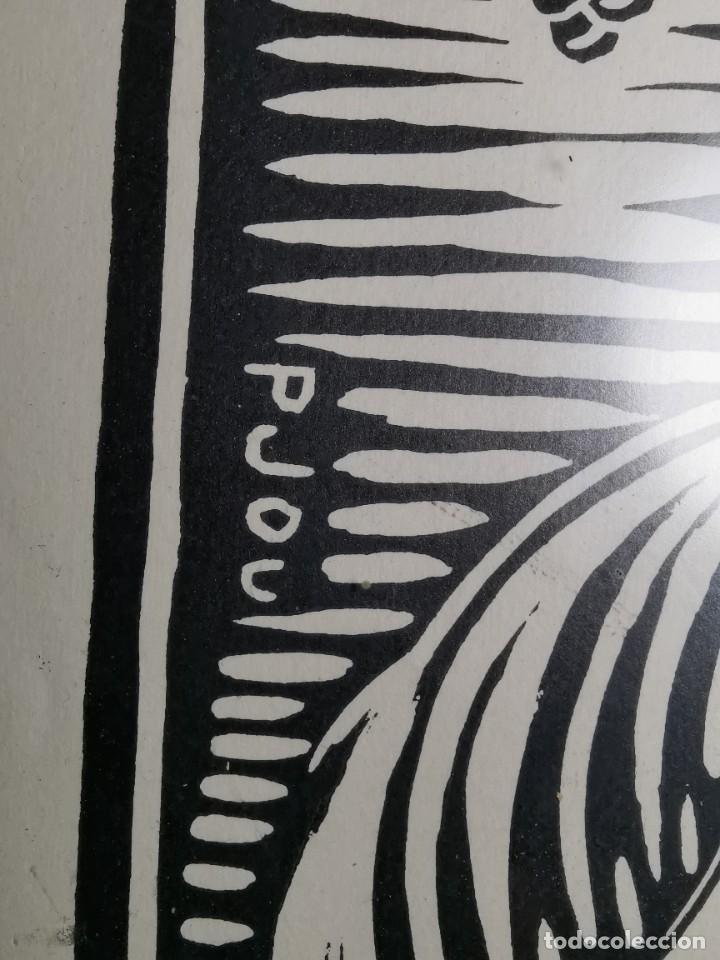 Arte: VERGE SANTA DEL VINYET..FIRMADO P JOU SE DESCONOCE TECNICA GRÁFICA DE IMPRESION---REF-MO - Foto 17 - 253107885