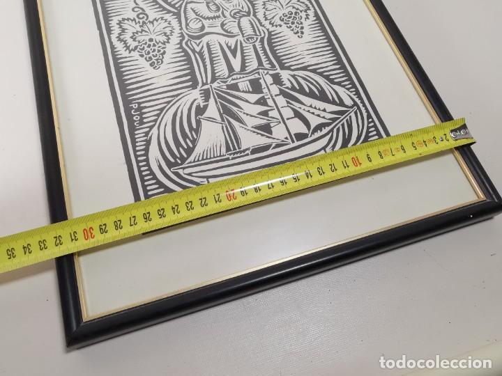 Arte: VERGE SANTA DEL VINYET..FIRMADO P JOU SE DESCONOCE TECNICA GRÁFICA DE IMPRESION---REF-MO - Foto 19 - 253107885