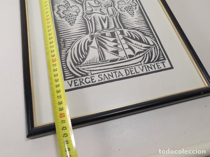 Arte: VERGE SANTA DEL VINYET..FIRMADO P JOU SE DESCONOCE TECNICA GRÁFICA DE IMPRESION---REF-MO - Foto 20 - 253107885