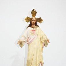 Arte: FIGURA RELIGIOSA O IMAGEN CORAZÓN DE JESÚS. Lote 253228530