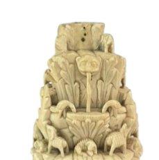 Arte: TALLA INDOPORTUGUESA MONTE BUEN PASTOR - THE MOUNT OF GOOD SHEPHERD 17TH CENTURY. Lote 212318646