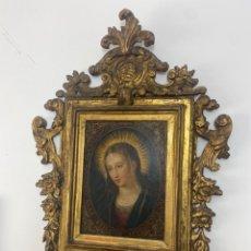 Arte: OLEO SOBRE COBRE, ESCUELA ITALIANA S.XVI. VIRGEN.. Lote 253614325