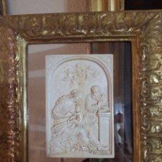 Arte: PLACA DE MARFIL ITALIANA S.XVIII. Lote 254367265