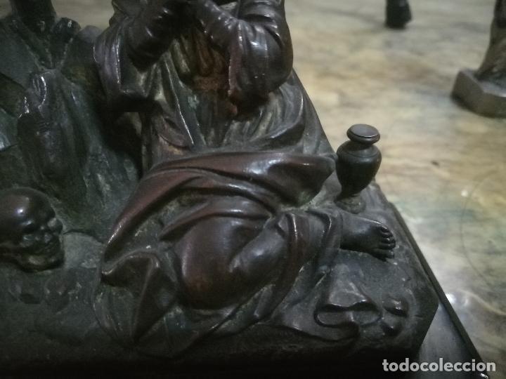 Arte: Escultura en calamina S.XIX María Magdalena. - Foto 3 - 254491525