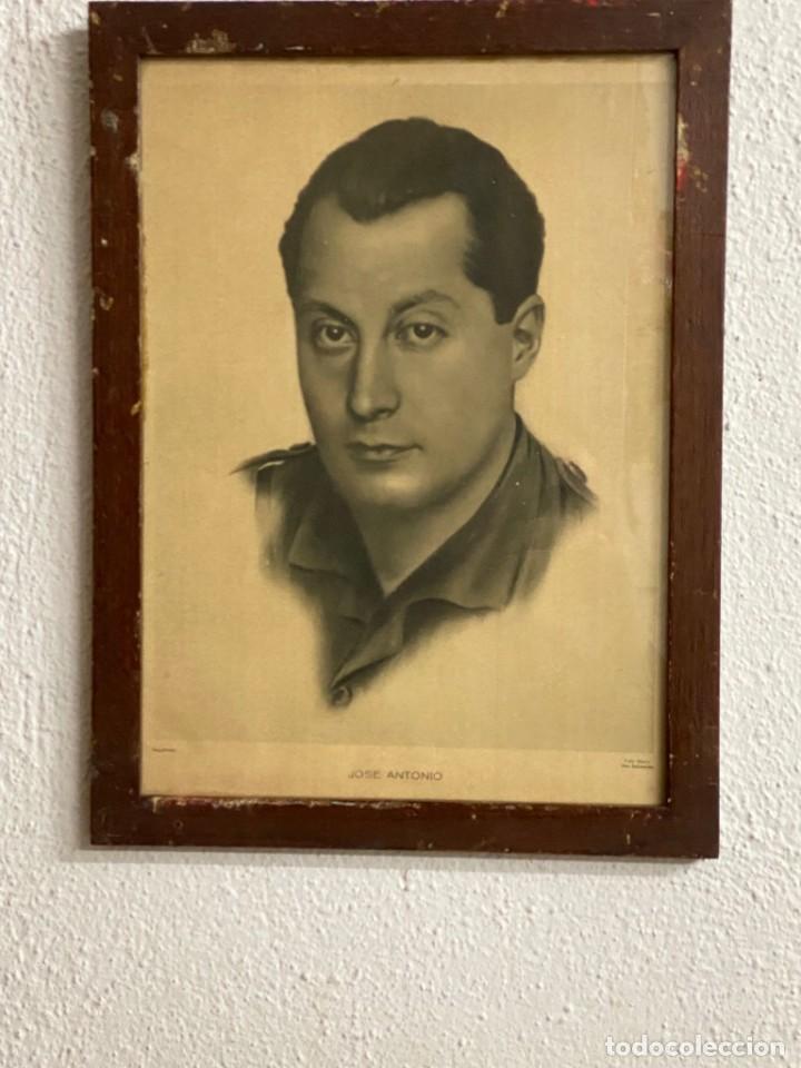 CUADRO ANTIGUO DE JOSE ANTONIO (FALANGE) (Arte - Arte Religioso - Pintura Religiosa - Otros)