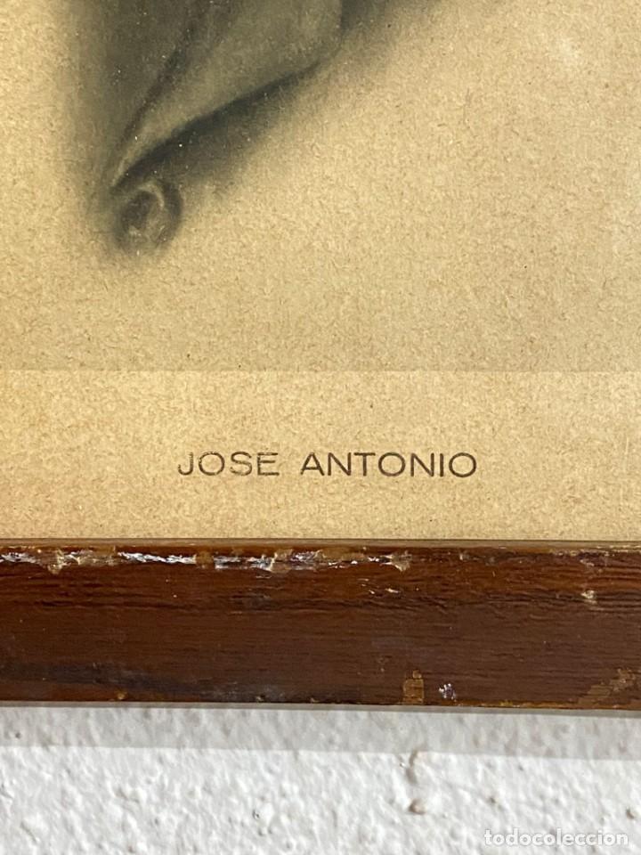 Arte: CUADRO ANTIGUO DE JOSE ANTONIO (FALANGE) - Foto 2 - 254496080