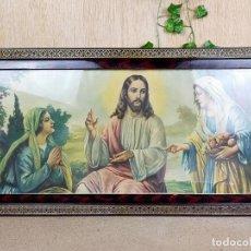 Arte: CUADRON RELIGIOSO 89 X 41 CM. Lote 254946285