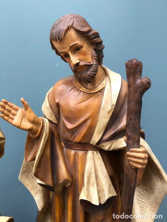 Arte: Pesebre de escayola, figuras Belén siglo XX. Ver fotos. - Foto 5 - 256136075
