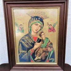 Arte: CUADRO RELIGIOSO ESTILO BIZANTINO. Lote 257341915