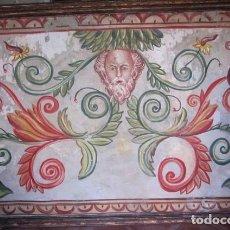 Arte: PINTURA AL FRESCO, DE ORACULO CON GIRNALDAS 165 DE ANCHO X 115 DE ALTO. SXX.. Lote 257482135