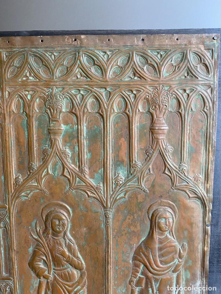 Arte: Cuatro santos, bajorrelieves góticos. - Foto 4 - 257881910