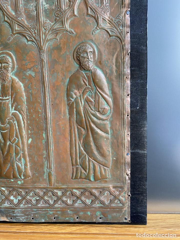 Arte: Cuatro santos, bajorrelieves góticos. - Foto 5 - 257881910