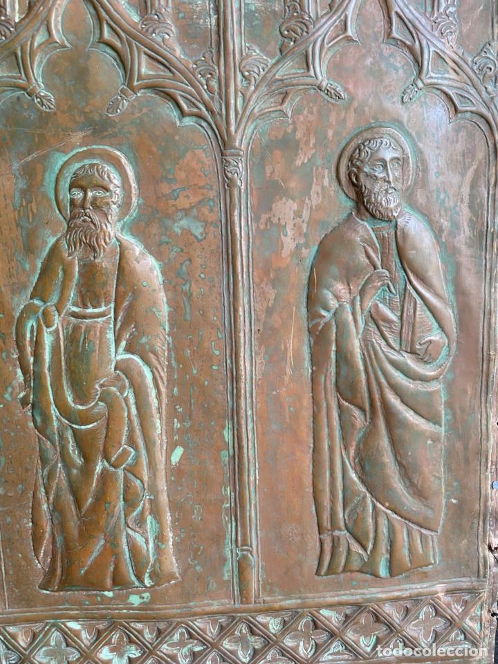 Arte: Cuatro santos, bajorrelieves góticos. - Foto 7 - 257881910