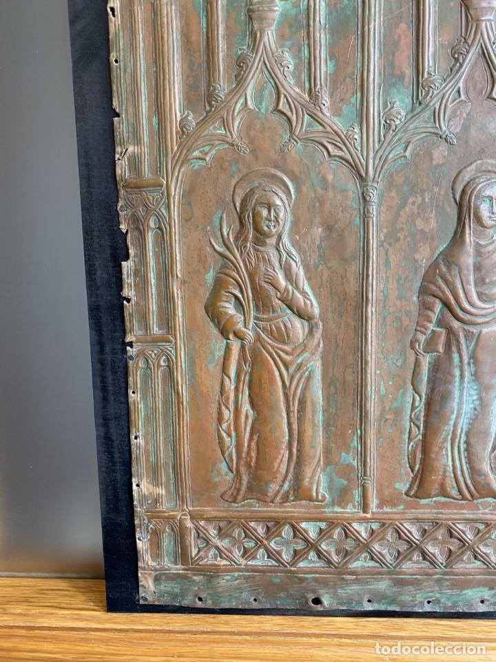 Arte: Cuatro santos, bajorrelieves góticos. - Foto 8 - 257881910
