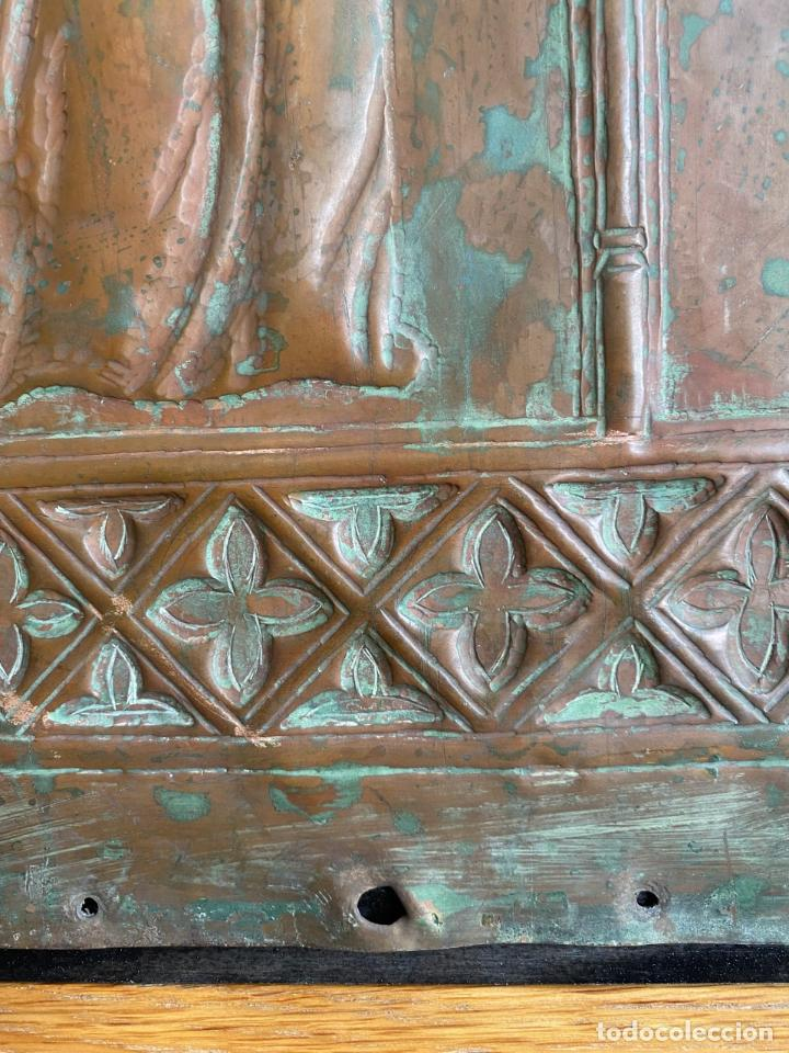 Arte: Cuatro santos, bajorrelieves góticos. - Foto 9 - 257881910