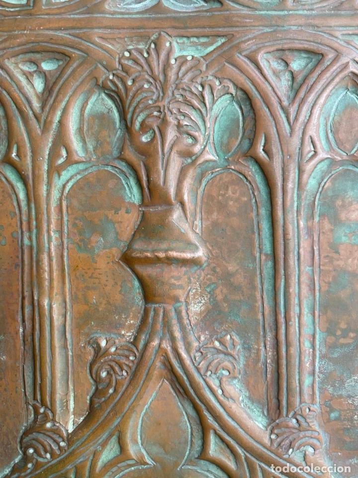 Arte: Cuatro santos, bajorrelieves góticos. - Foto 10 - 257881910