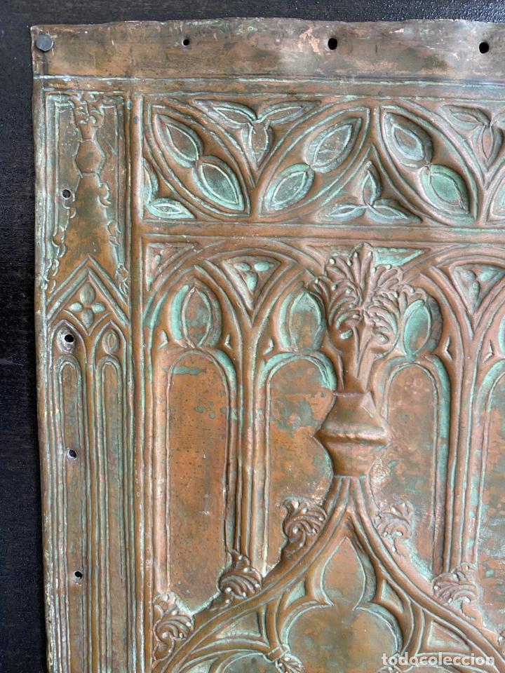 Arte: Cuatro santos, bajorrelieves góticos. - Foto 11 - 257881910