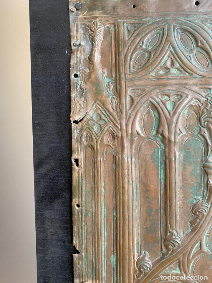 Arte: Cuatro santos, bajorrelieves góticos. - Foto 12 - 257881910