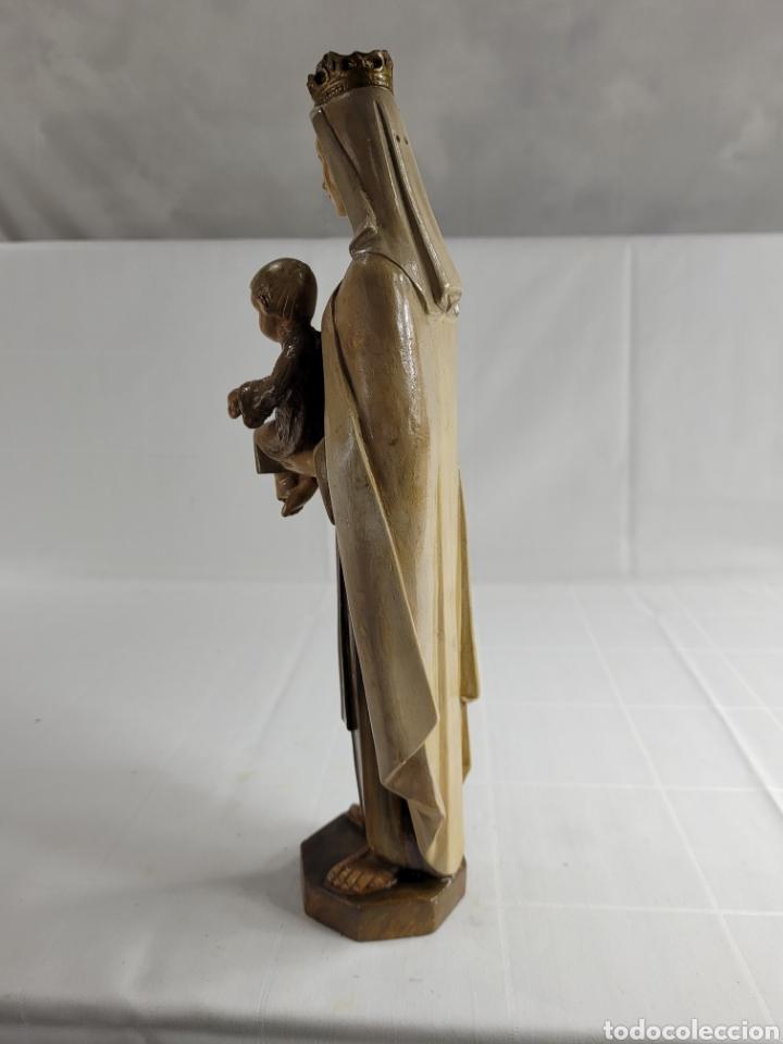 Arte: Virgen Con Niño por casa Dimosa (Olot) - Foto 4 - 258159275