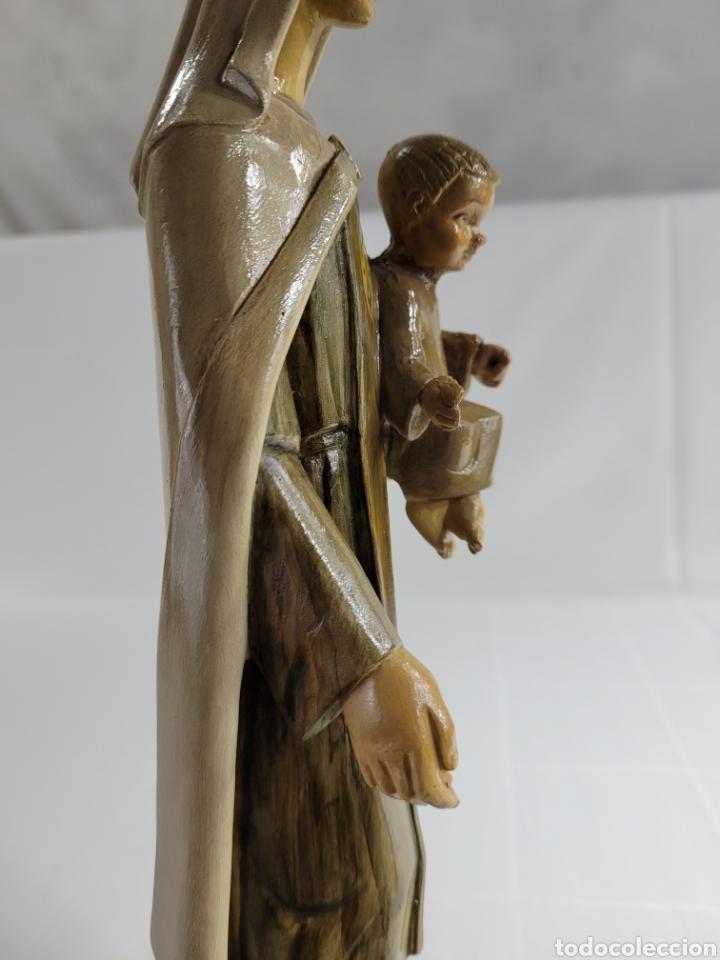 Arte: Virgen Con Niño por casa Dimosa (Olot) - Foto 6 - 258159275