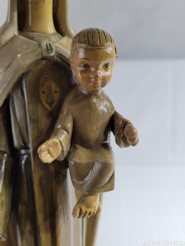 Arte: Virgen Con Niño por casa Dimosa (Olot) - Foto 7 - 258159275