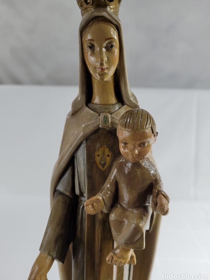 Arte: Virgen Con Niño por casa Dimosa (Olot) - Foto 11 - 258159275