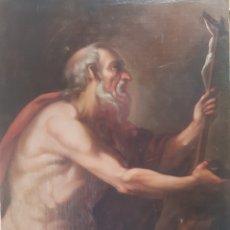 Arte: SAN JERÓNIMO ESCUELA ITALIANA S.XVII. Lote 259060455