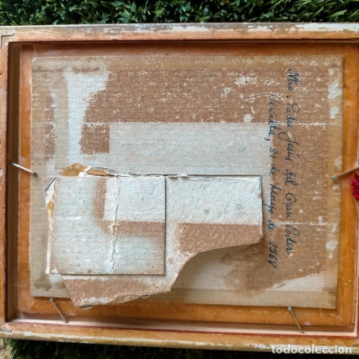 Arte: 1968 dibujo a lapiz carboncilla carboncillo cristo del gran poder semana santa sevilla marco madera - Foto 14 - 259249180