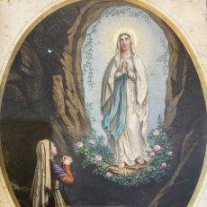 Arte: LITOGRAFÍA ANTIGUA RELIGIOSA. Lote 260043855