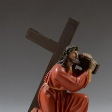 Arte: PRECIOSA TALLA ANTIGUA DE NUESTRO PADRE JESÚS NAZARENO. Lote 260063075