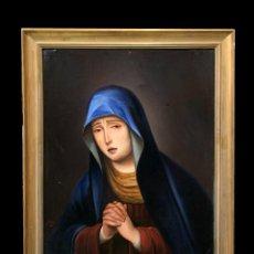 Arte: MAGNFICA DOLOROSA ESCUELA ANDALUZA S. XIX. Lote 260116345