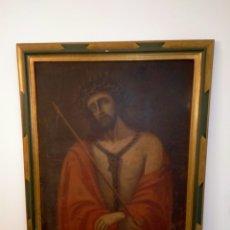 Arte: ECCEHOMO ESCUELA CASTELLANA TRANSICIÓN SIGLO XVII AL XVIII. Lote 260380170