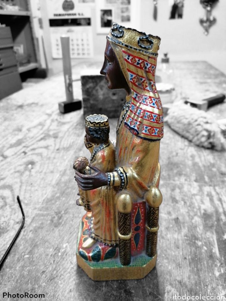 Arte: Virgen de Montserrat madera abedul - Foto 2 - 223193262