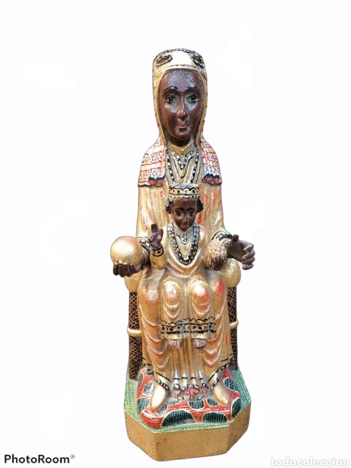VIRGEN DE MONTSERRAT MADERA ABEDUL (Arte - Arte Religioso - Escultura)