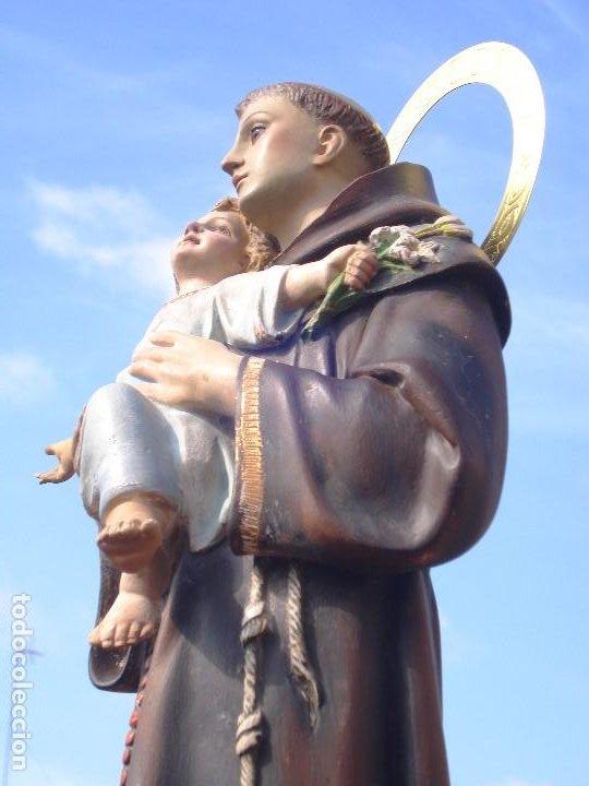 Arte: SAN ANTONIO DE PADUA CON NIÑO DORADO AL ORO FINO - Foto 7 - 261334735