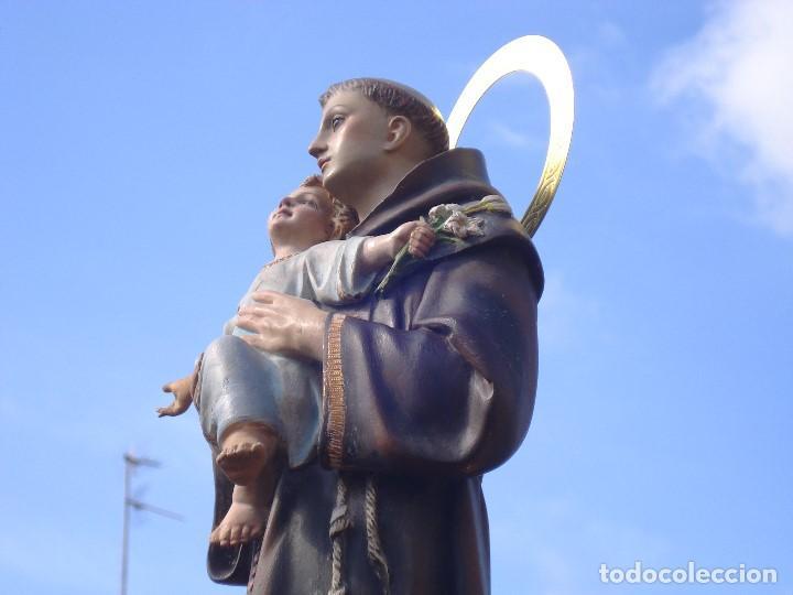 Arte: SAN ANTONIO DE PADUA CON NIÑO DORADO AL ORO FINO - Foto 14 - 261334735