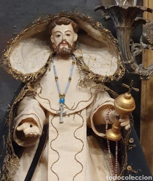 Arte: Escultura de San Jacinto - Terracota XIX - Leer Descripción - - Foto 3 - 129098003