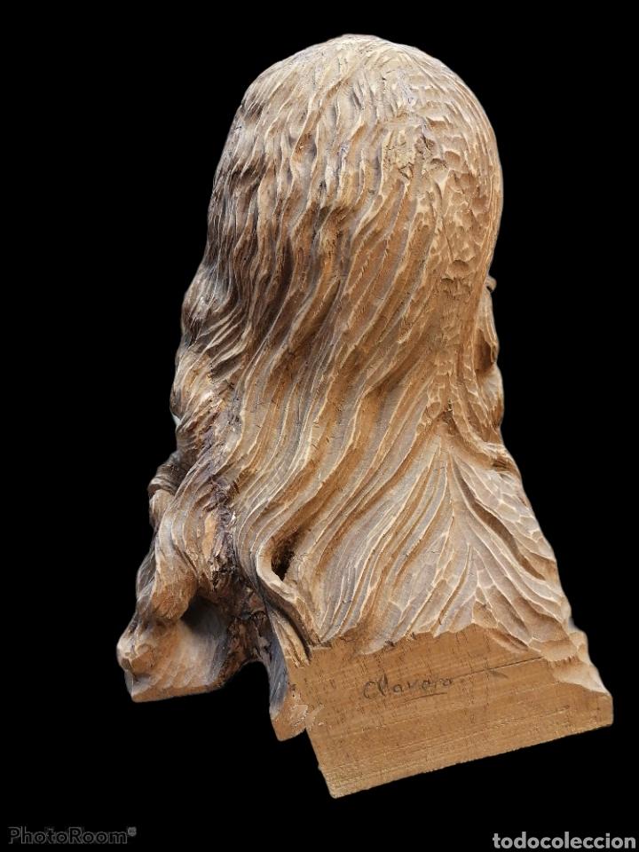 Arte: Cabeza cristo madera cedro - Foto 13 - 116309580