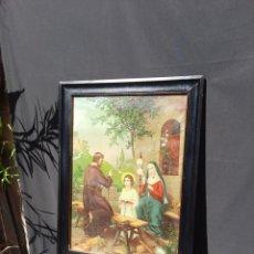 Arte: ANTIGUO CUADRO RELIGIOSO P.S XX. Lote 261892280