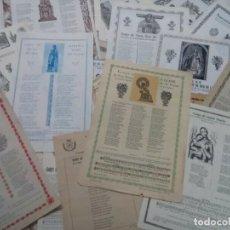 Arte: LOTE DE 30 GOZOS RELIGIOSOS , VER. Lote 261946725
