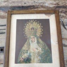 Arte: STAMA. VIRGEN DE LA ESPERANZA (MACARENA, SEVILLA). Lote 262092760
