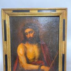 Arte: OLEO SOBRE LIENZO, JESUCRISTO. S.XVIII.. Lote 262175985