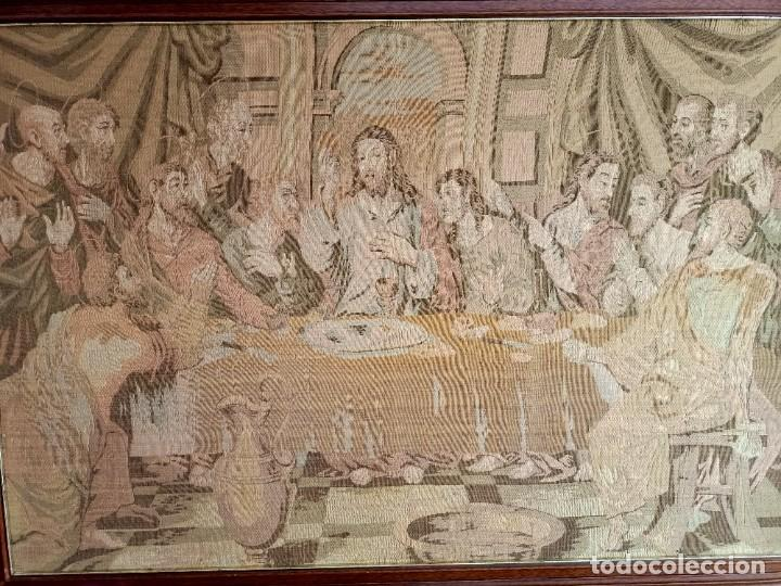 Arte: Antiguo tapiz de La Ultima Cena - Foto 2 - 262261905